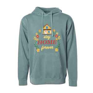 Stay Home Pigment Dyed Pullover
