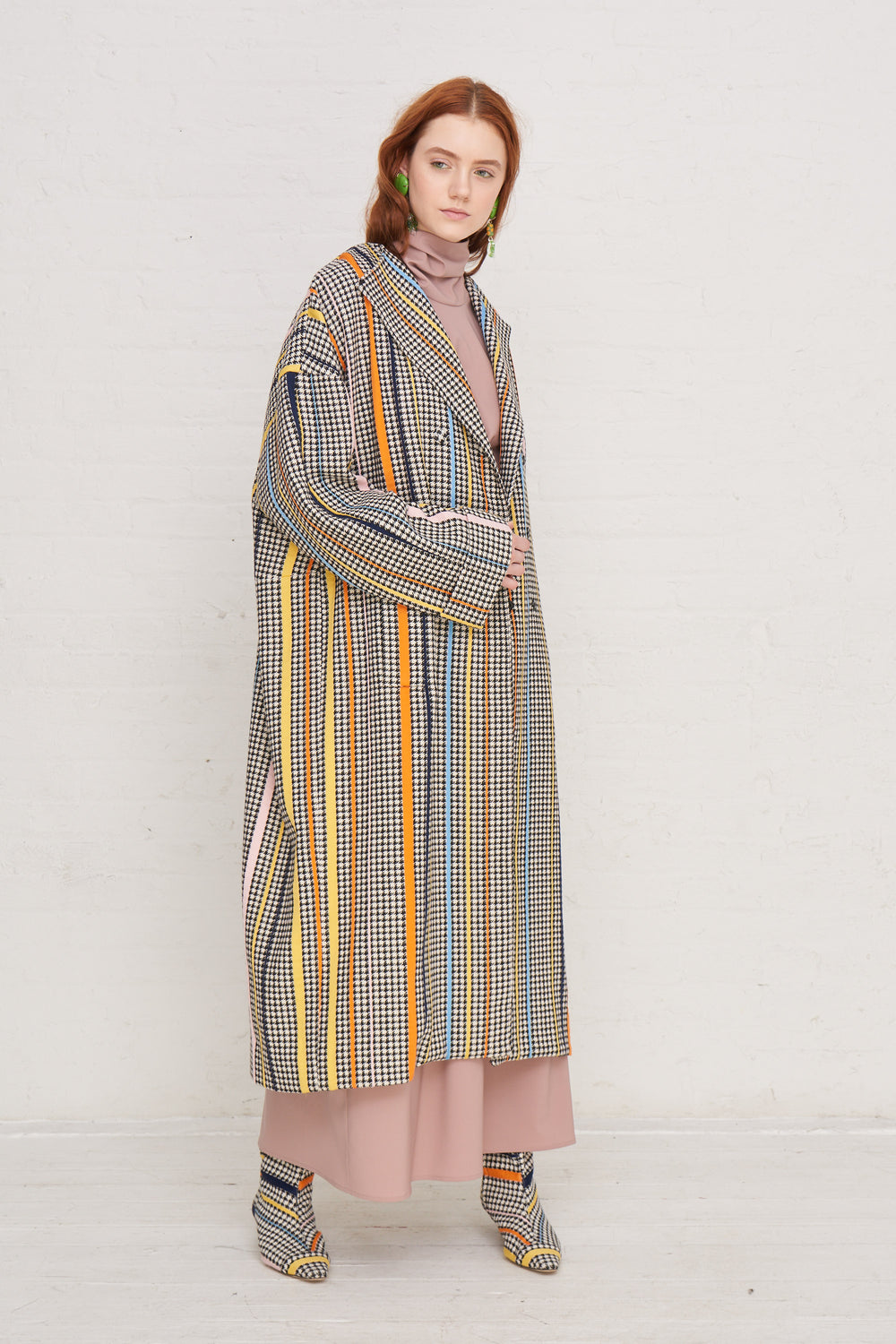 Oversized Sash Coat