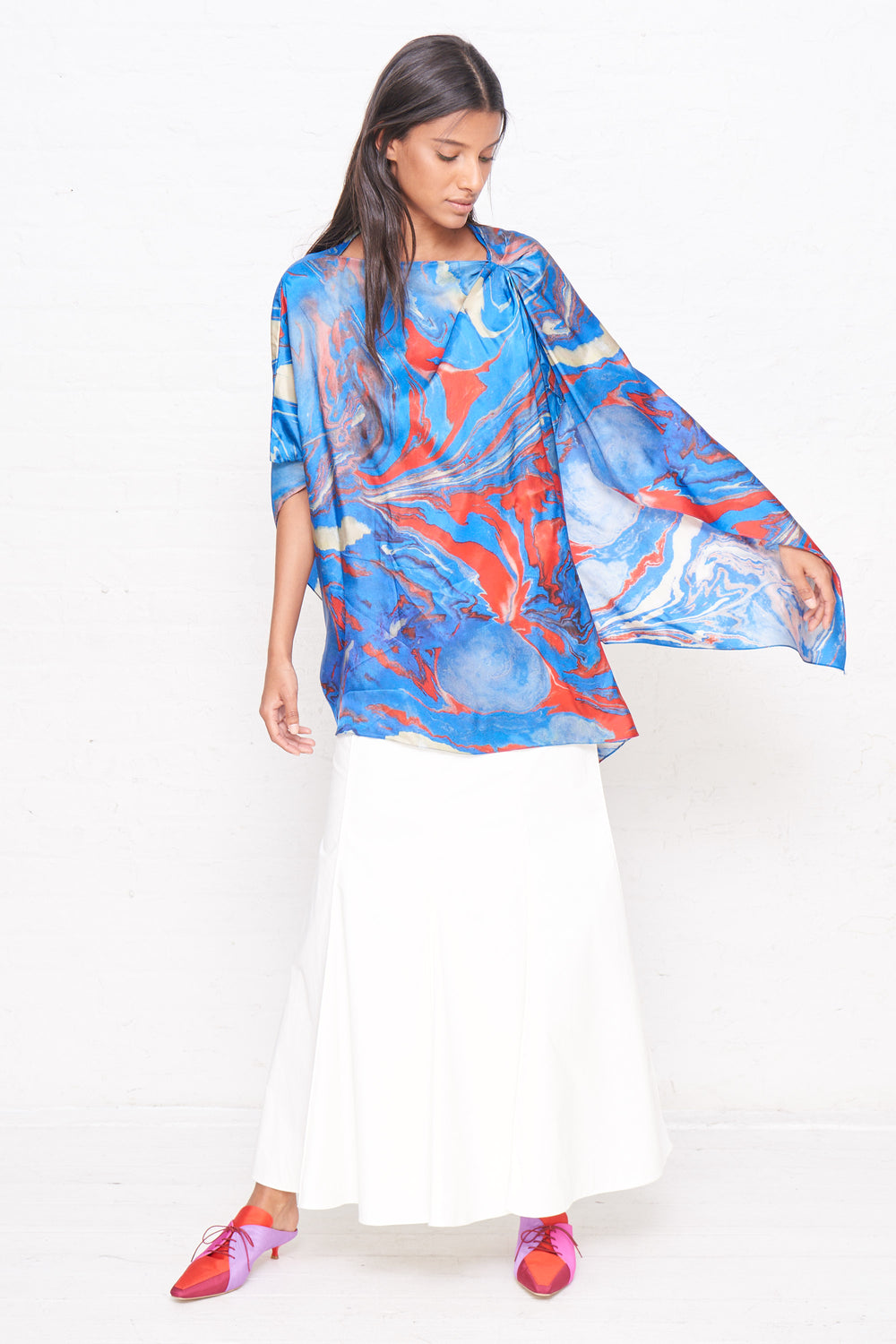 Wrap Cape Top