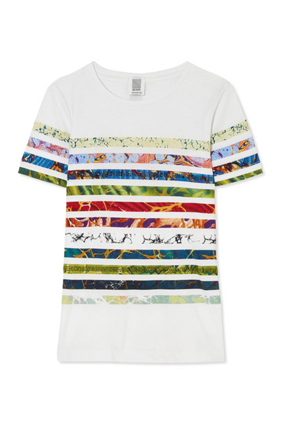Crystal Stripe Tee