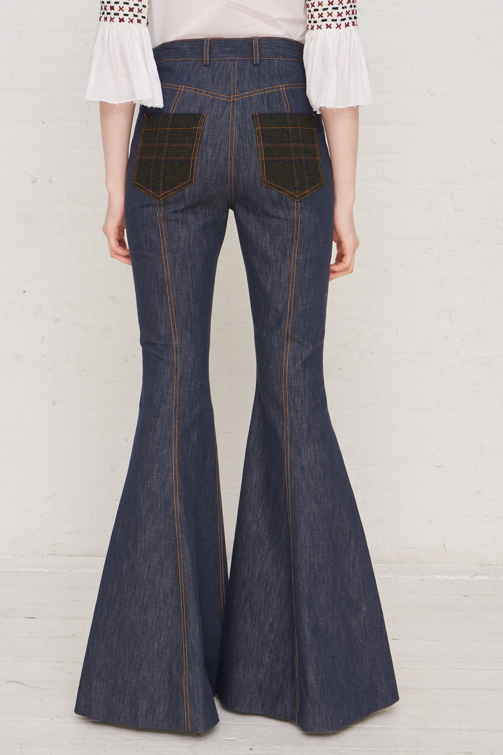 Exaggerated Flared Pant