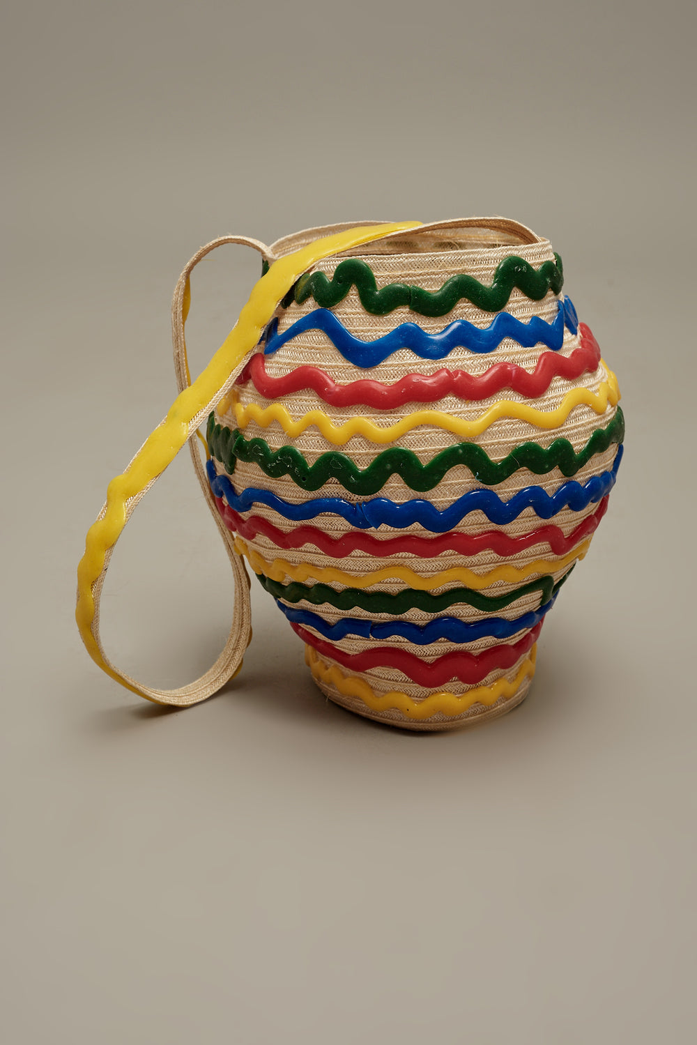 Rainbow Squiggle Pesce Jug Bag