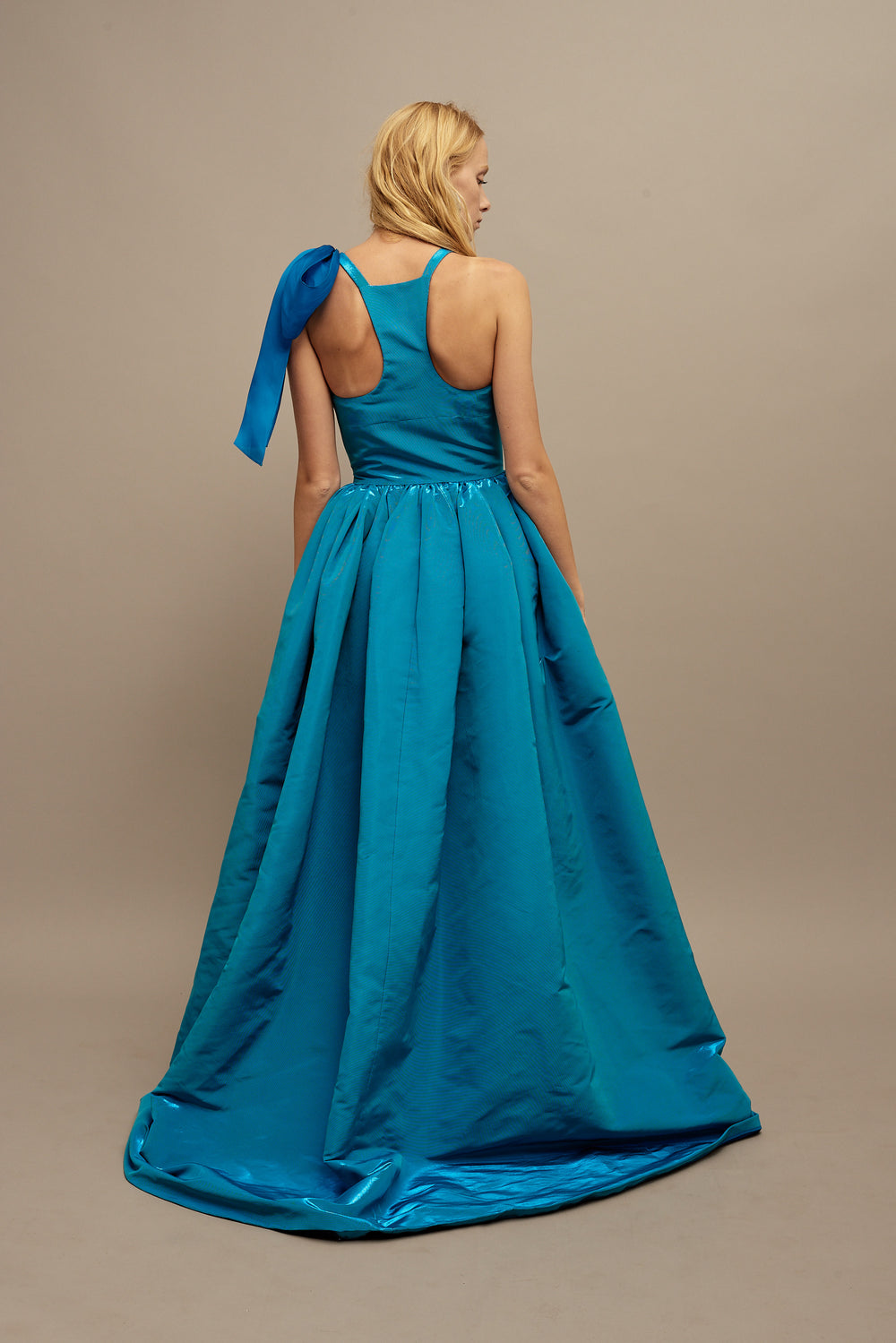 Button Down Ball Gown