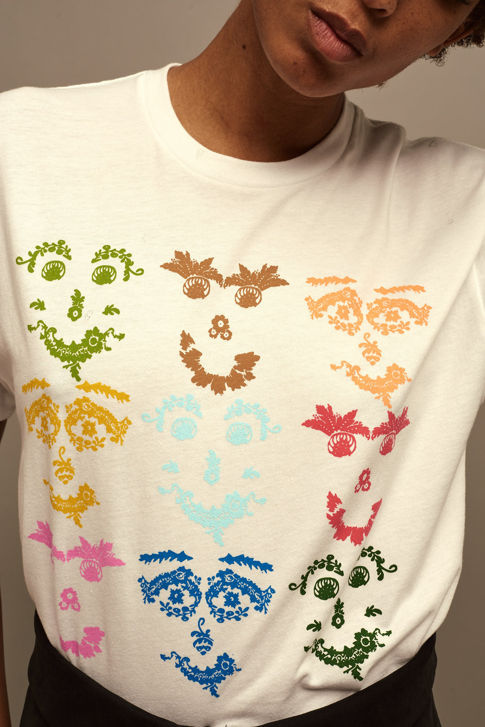 Lace Face Tee