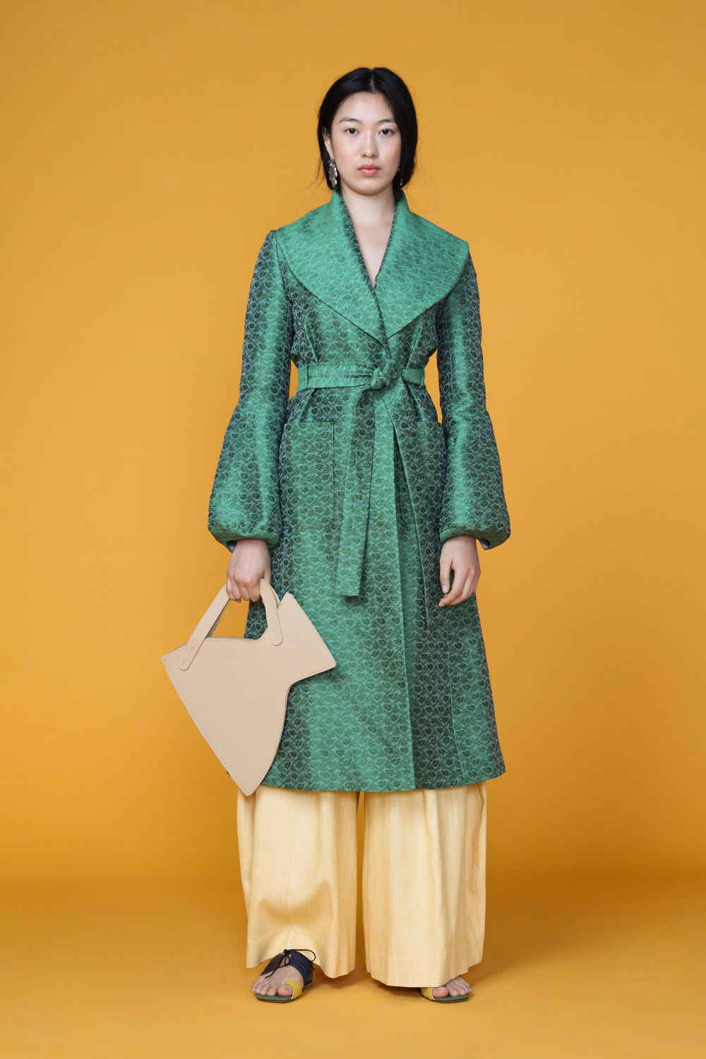Bell Sleeve Trench