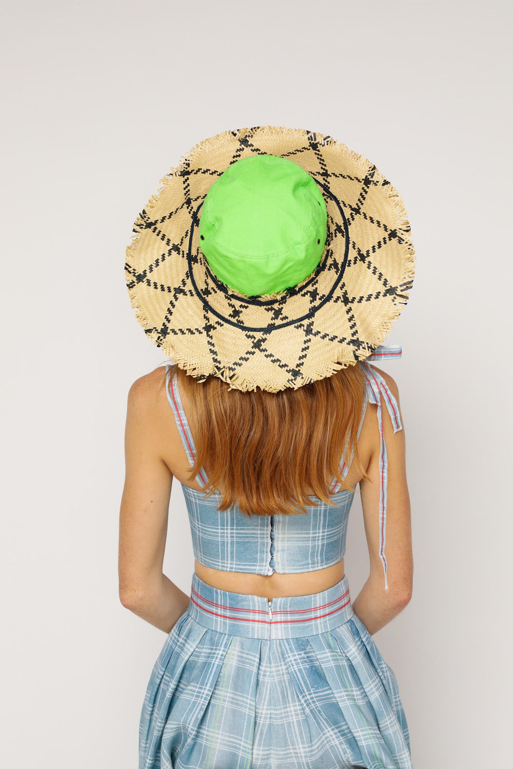 Fringed Hybrid Hat