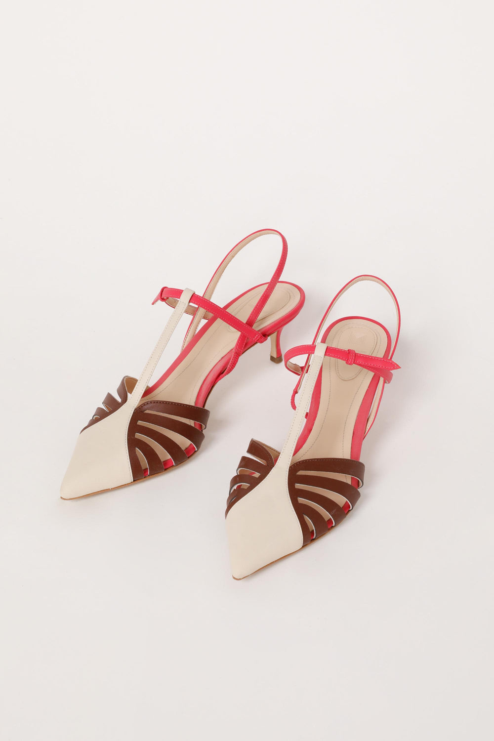 Charisse Slingback Lattice Heels