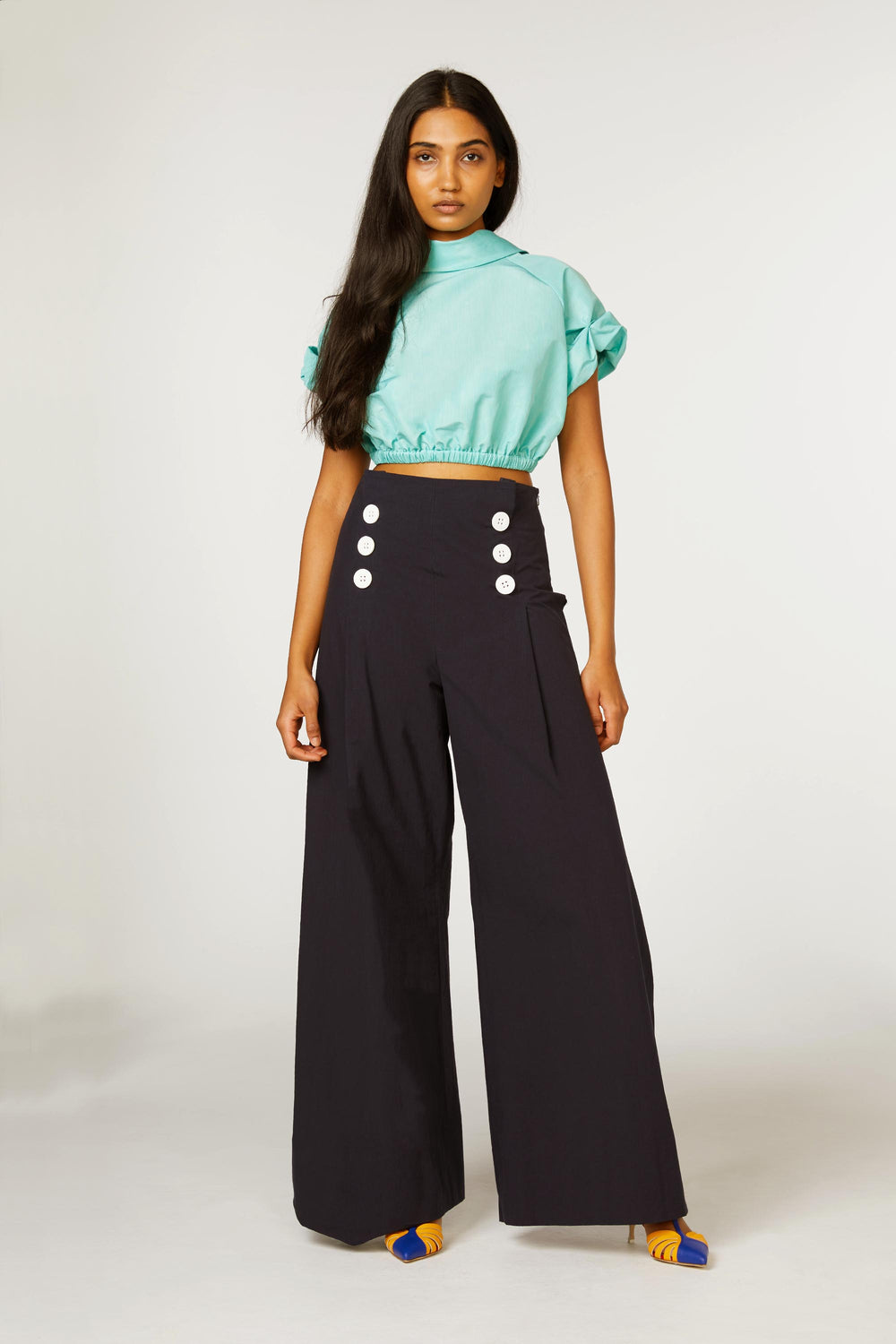 Wide Leg Sailor Pant