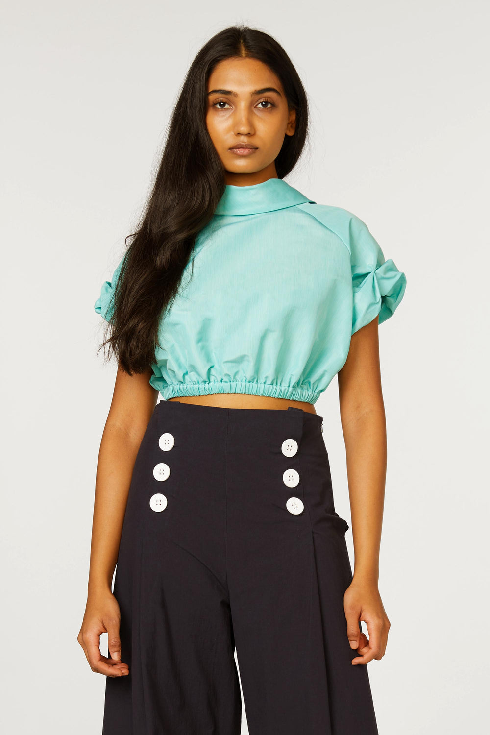 Bubble Crop Top