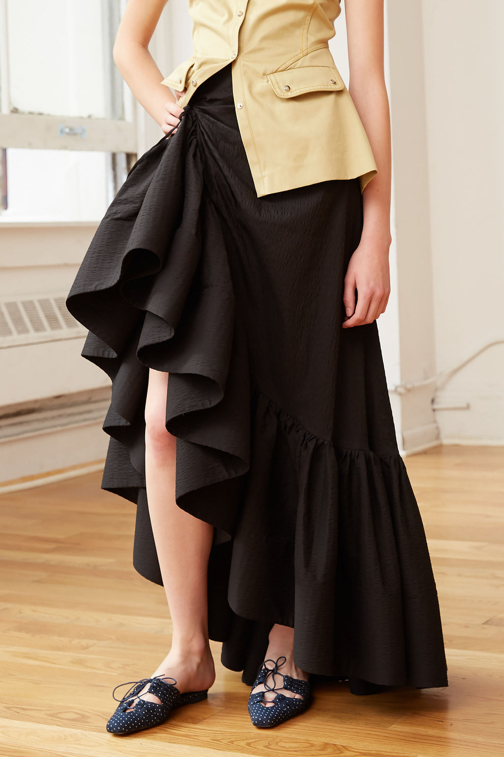 Whoopsy Daisy Skirt Black