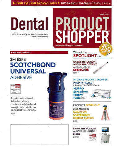 Luster Premium White-Dental Product Shopper - May 2013