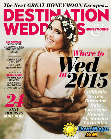 Luster Premium White-Destination Weddings & Honeymoons - December 2014