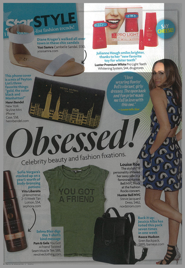 Luster Premium White Featured in Star – October 2014