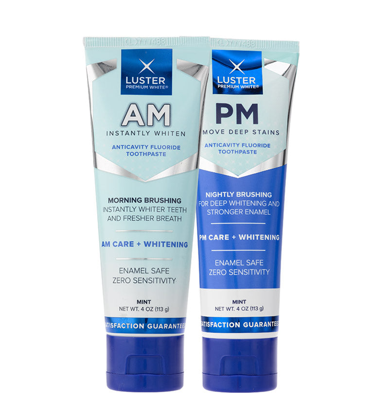 AM/PM - Morning & Night Whitening Toothpaste