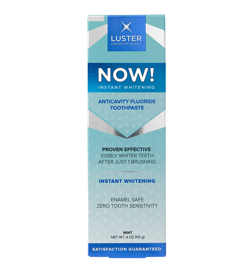 Instant Whitening Mint Toothpaste - Luster Now!™