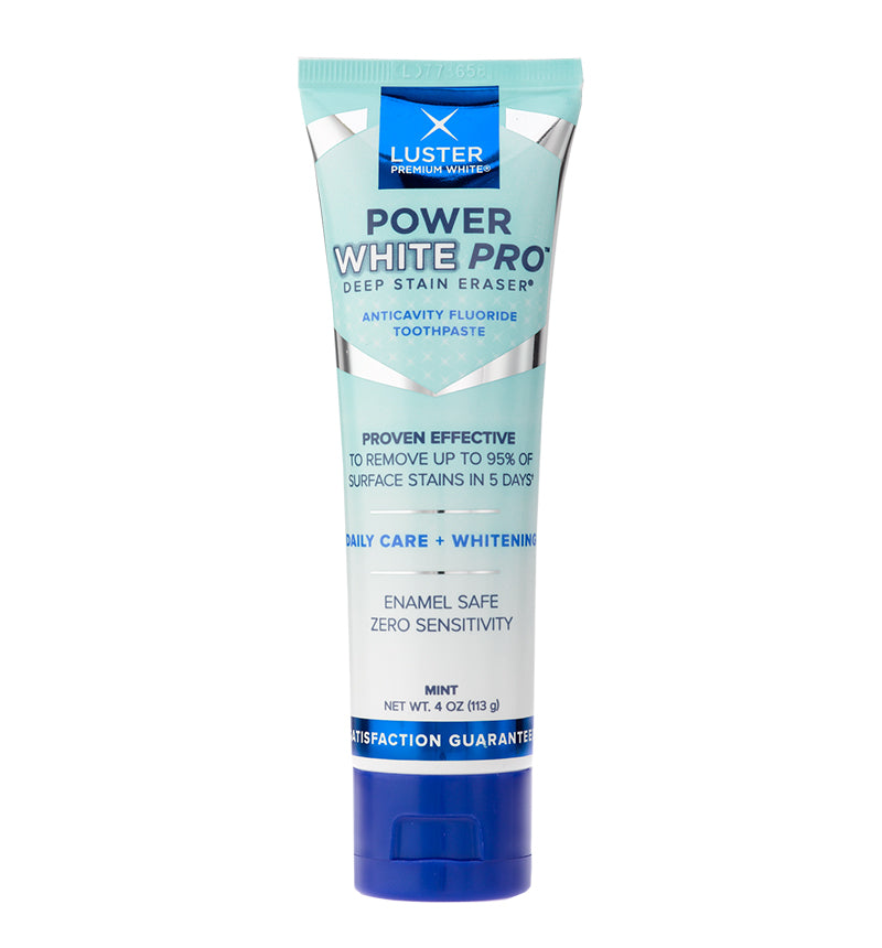 Stain Erasing Mint Toothpaste - Luster Power White Pro™