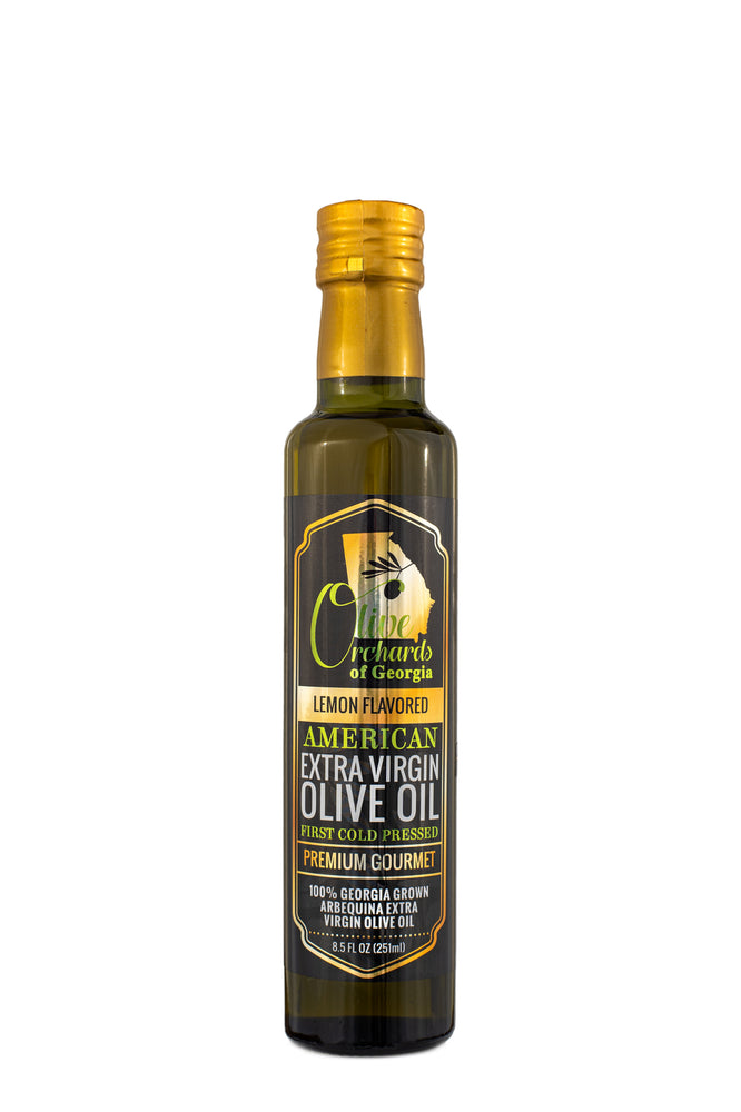 Extra Virgin Olive Oil (250 ml/ 8.5 fl oz) Lemon Flavored
