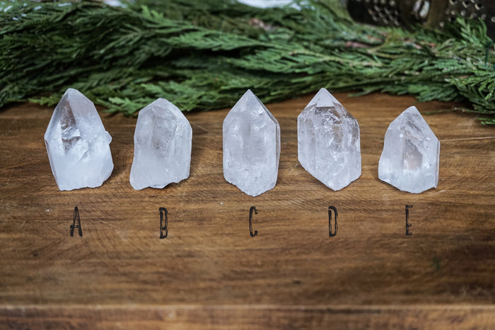 Crystal Quartz Point - Raw Crystal