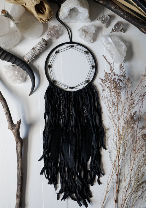 Black Obsidian Dreamcatcher