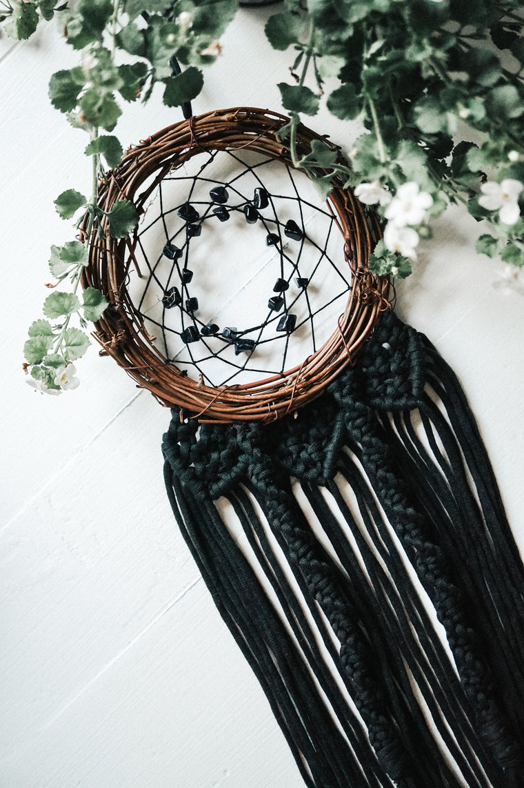 Blue GoldStone Dream Catcher