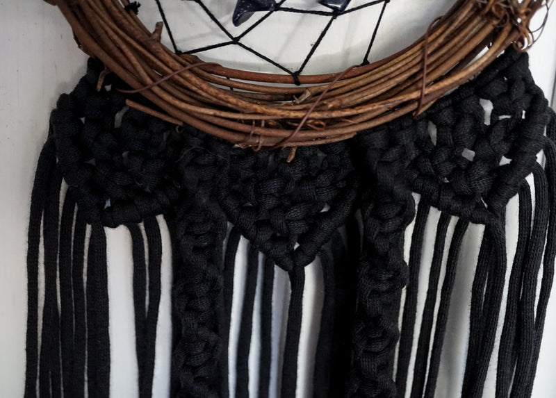 Blue Goldstone Dream Catcher Home Decor