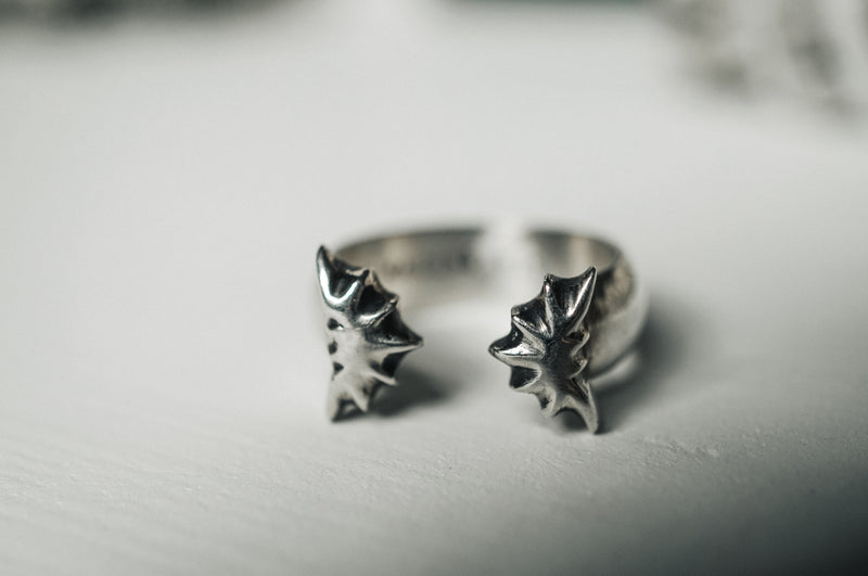 Sterling Silver Gothic Rings Sterling Silver