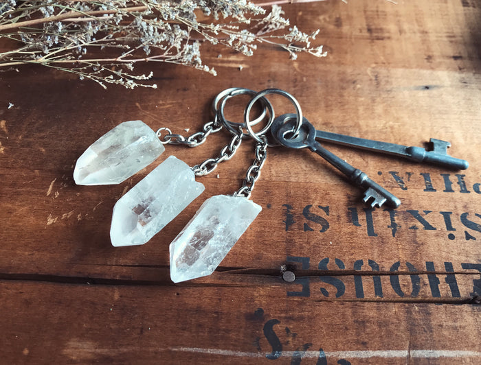 Quartz Keychain Home Decor
