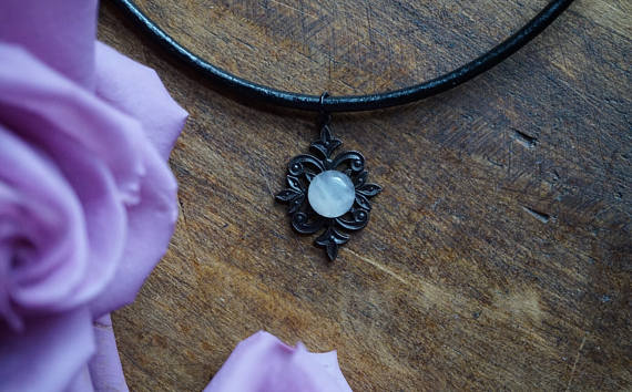 Rose Quartz Mandala Necklace Necklace