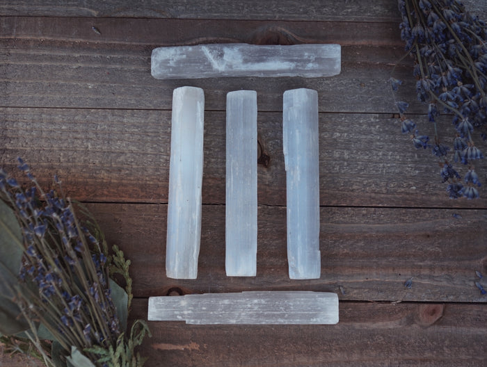 Selenite Wand - Selenite Stick Home Decor