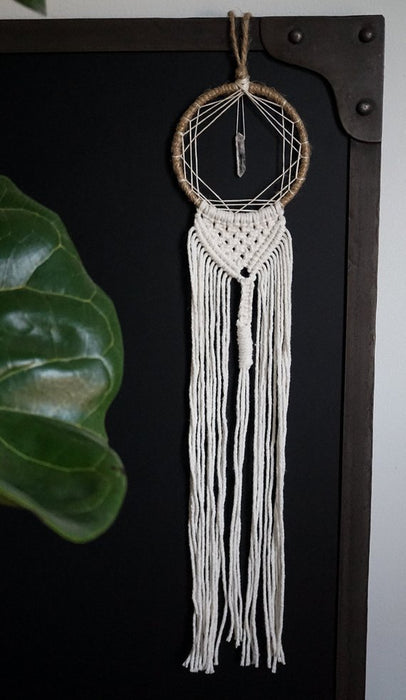 Small Crystal Dream Catcher