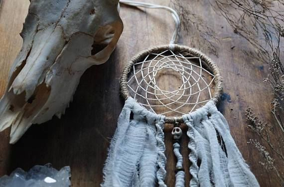 Skull DreamCatcher - Boho Dream Catcher