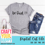 SVG Cut File - Be Kind - Crafts You Cut