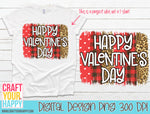 Sublimation PNG Printable - Happy Valentine's Day