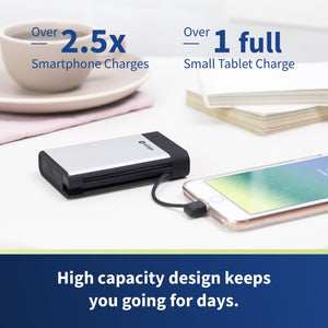 Endure 10050mAh Lightning & Micro USB Portable Charger