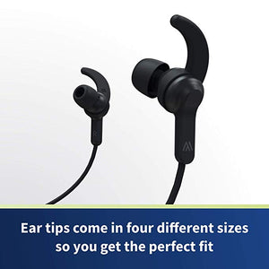 Bluetooth Headphones - Altigo in Ear Wireless Earbuds (Black)