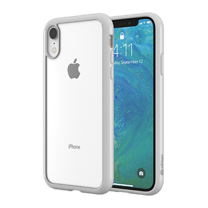 Altigo iPhone XR Case - Clear Case with White Bumper