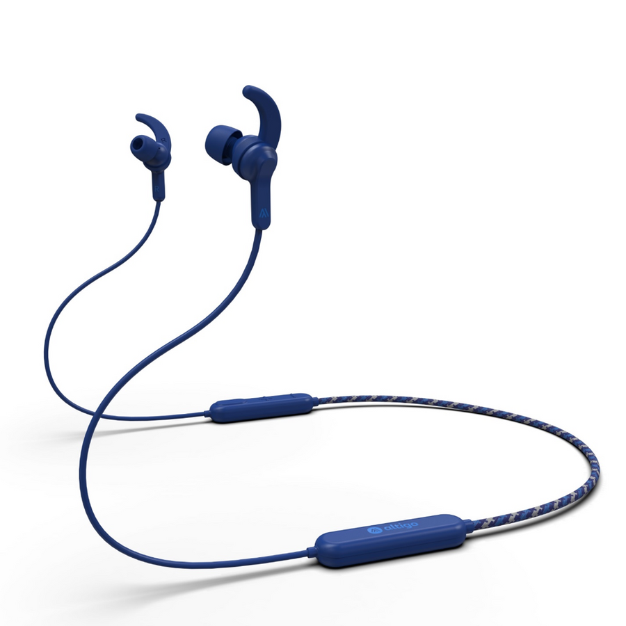 Bluetooth Headphones - Altigo In-Ear Wireless Earbuds (Blue)