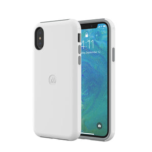 Altigo iPhone Xs Case (Compatible with iPhone X) - Protective, Shock Absorbent (White)