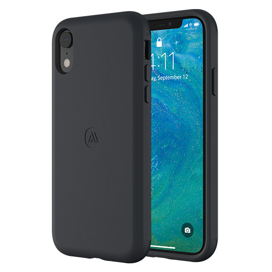 Altigo iPhone XR Case - Protective, Shock Absorbent (Black)
