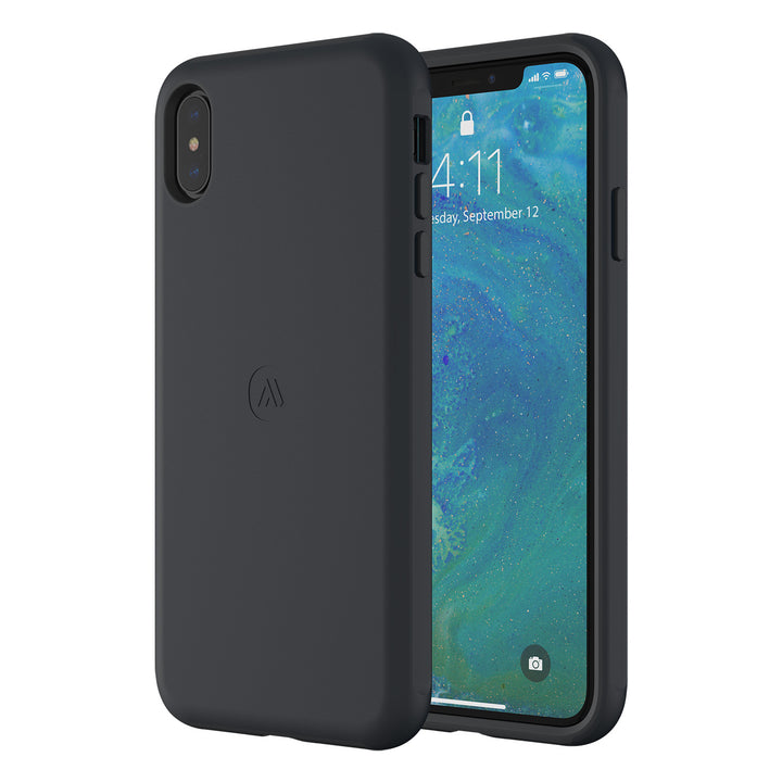 Altigo iPhone Xs Max Case - Protective, Shock Absorbent (Black)