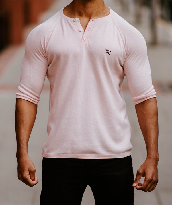 Reign Henley - Cameo Pink