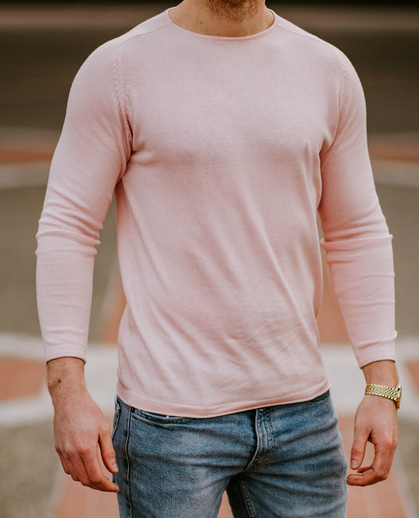 Reign Long Sleeve - Cameo Pink