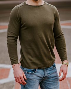 Reign Long Sleeve - Slate Olive