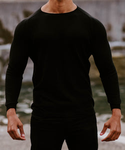 Reign Long Sleeve - Dusky black