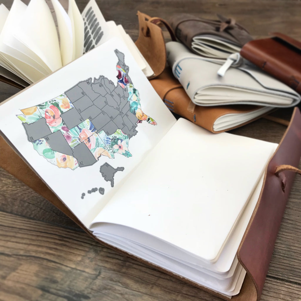 US Travel Journal - Rose Less Traveled