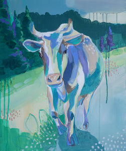 'Isla the Cow' - Print