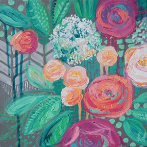 Wintergreen Rose - Print