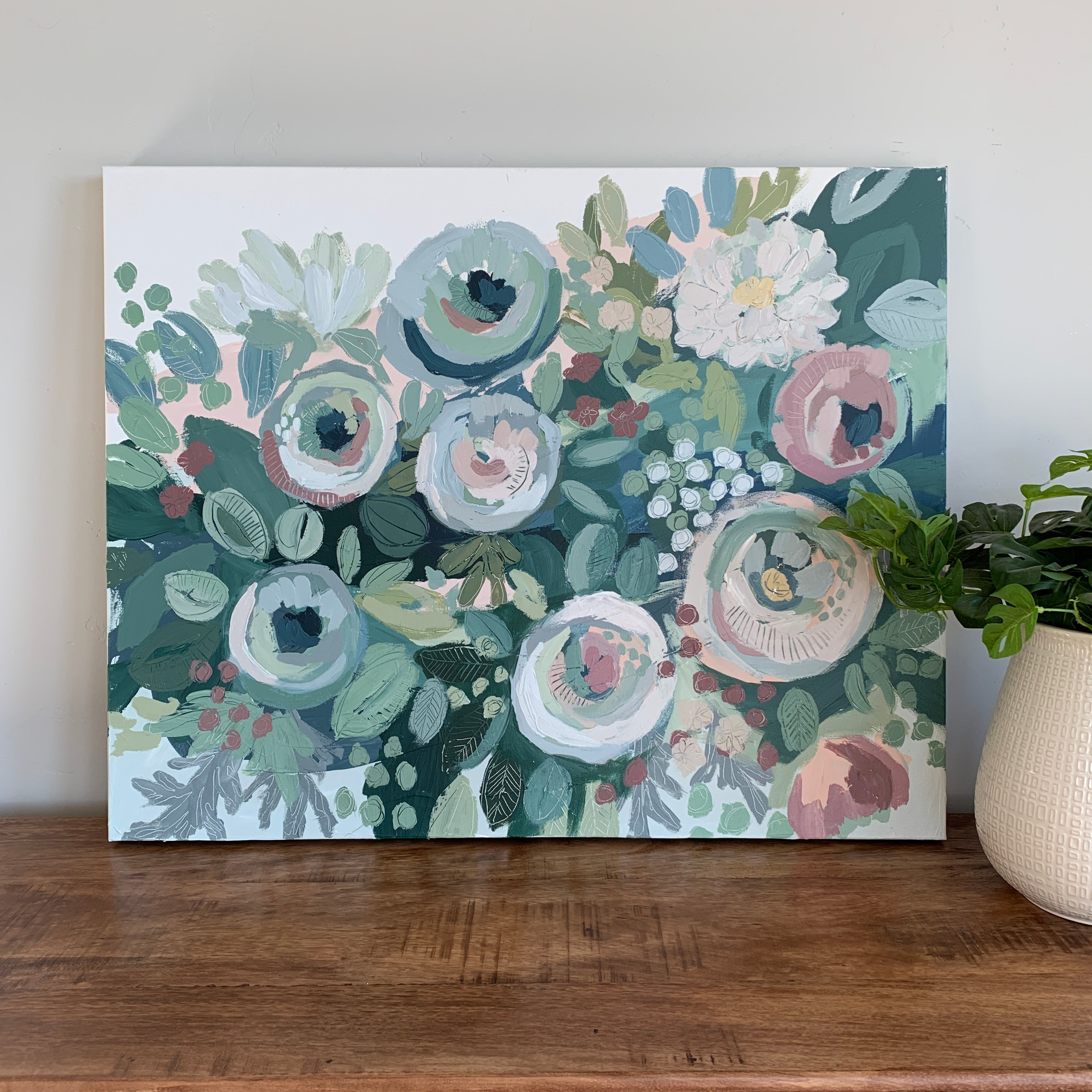 'Blissful Blooms' - Print