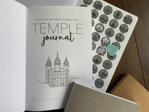 US LDS Temple Scratch off Journal- Soft Cover