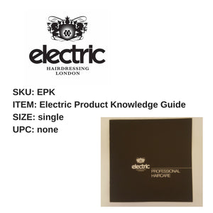 Electric Product Knowledge Guide